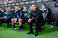 Steve Cooper Head Coach of Swansea City during the Sky Bet Championship match between Swansea City and Nottingham Forest at the Liberty Stadium in Swansea, Wales, UK. Saturday 14 September 2019