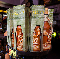 Xtabentun, a Liqueur Made from Honey, Anise, and Rum.  Tequila Museum, Playa del Carmen, Riviera Maya, Yucatan, Mexico.