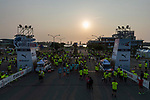 Runners participate at the Wings for Life World Run Taiwan across Tainan Jiangjun Fishing Port on 07 May 2017 in Taiwan. Photo by Victor Fraile / Power Sport Images