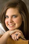 Allison McMath senior portrait.  (Photo/Steve Campbell)    .