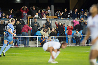 Stanford, CA - December 8, 2019: Fans, Sophia Smith at Avaya Stadium. The Stanford Cardinal won their 3rd National Championship, defeating the UNC Tar Heels 5-4 in PKs after the teams drew at 0-0.