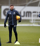 05.02.2019: Rangers training: Steven Gerrard
