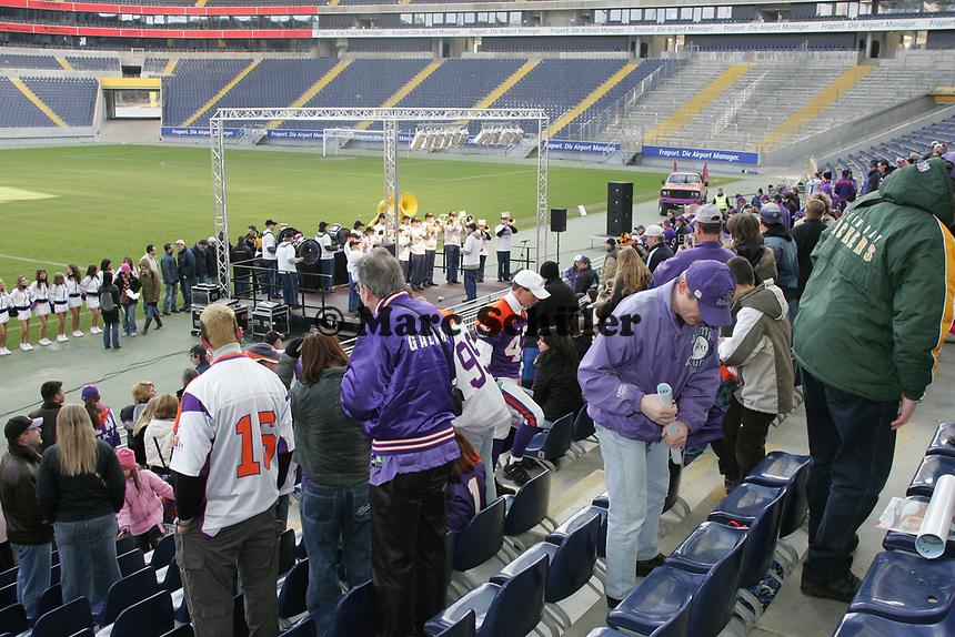 Fans beim 1. Indoor Fan Day der Frankfurt Galaxy
