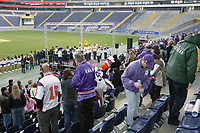 Fans beim 1. Indoor Fan Day der Frankfurt Galaxy