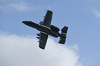 FORT LAUDERDALE FL - NOVEMBER 19: The Fairchild Republic A-10 Thunderbolt II is seen in flight during press day for the Fort Lauderdale Air Show at the Fort Lauderdale-Hollywood International Airport on November 19, 2020 in Fort Lauderdale, Florida. Credit: mpi04/MediaPunch