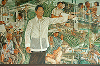 Imelda Marcos, Wall painting in her home