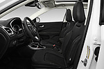 Front seat view of 2017 JEEP Compass Latitude 5 Door SUV Front Seat  car photos