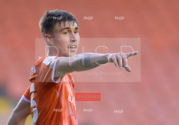 24/08/2021 Carabao Cup 2nd Round Blackpool v Sunderland <br /> <br /> Daniel Gretarsson, Blackpool FC