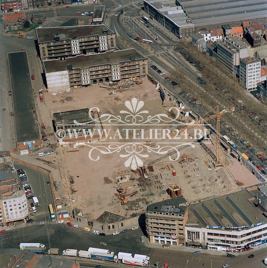 1990. Tunnelplaats in Antwerpen.