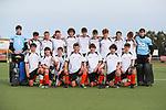 Hawkes Bay Team Photo. Round 2. Men's U18 Hockey Nationals, Gallagher Hockey Centre, Hamilton. Monday 12 July 2021. Photo: Simon Watts/www.bwmedia.co.nz