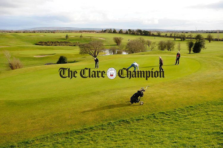 Gort Golf Course. Photograph by John Kelly.