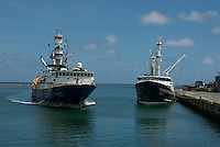 TAIWAN FISHING TRAWLERS IN POHNPEI HARBOR