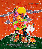 GIORDANO, CUTE ANIMALS, LUSTIGE TIERE, ANIMALITOS DIVERTIDOS, Halloween, paintings+++++,USGI2386,#AC#