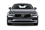 Car photography straight front view of a 2018 Volvo S90 Momentum 4 Door Sedan