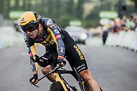 Wout van Aert (BEL/Jumbo-Visma)<br /> <br /> Stage 5 (ITT): Time Trial from Changé to Laval Espace Mayenne (27.2km)<br /> 108th Tour de France 2021 (2.UWT)<br /> <br /> ©kramon