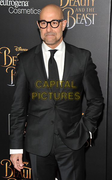 NEW YORK, NY - March 13 : Stanley Tucci attends the 'Beauty And The Beast' New York screening at Alice Tully Hall, Lincoln Center on March 13, 2017 in New York City.<br /> CAP/MPI/JP<br /> ©JP/MPI/Capital Pictures