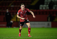 Lincoln City's Theo Archibald<br /> <br /> Photographer Chris Vaughan/CameraSport<br /> <br /> EFL Papa John's Trophy - Northern Section - Group E - Lincoln City v Manchester City U21 - Tuesday 17th November 2020 - LNER Stadium - Lincoln<br />  <br /> World Copyright © 2020 CameraSport. All rights reserved. 43 Linden Ave. Countesthorpe. Leicester. England. LE8 5PG - Tel: +44 (0) 116 277 4147 - admin@camerasport.com - www.camerasport.com
