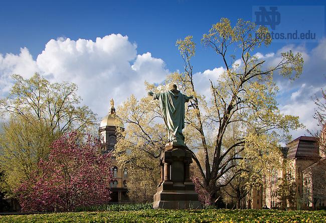 Apr. 26, 2011; Main Quad ..Photo by Matt Cashore/University of Notre Dame