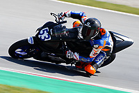 29th March 2021; Barcelona, Spain;  Superbikes, WorldSSP300 , day 1 testing at Circuit Barcelona-Catalunya; Petr Svodova (CZE) riding Yamaha YZF-R3 from WRP Wepol Racing