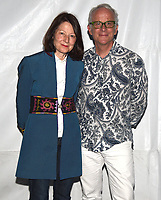 """PASADENA, CA - SEPT 9: Directors Janet Tobias and John Hoffman attend a drive-in screening of National Geographic Documentary Films """"Fauci"""" at the Rose Bowl on September 9, 2021 in Pasadena, California. (Photo by Frank Micelotta/National Geographic/PictureGroup)"""