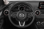 Car pictures of steering wheel view of a 2019 Mazda CX-3 Skycruise 5 Door SUV Steering Wheel