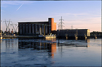 Turbigo (Milano), centrale idroelettrica ENEL Greenpower --- Turbigo (Milan), ENEL Greenpower hydroelectric plant