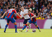 11th September 2021; Selhurst Park, Crystal Palace, London, England;  Premier League football, Crystal Palace versus Tottenham Hotspur: Oliver Skipp of Tottenham Hotspur challenges Conor Gallagher of Crystal Palace