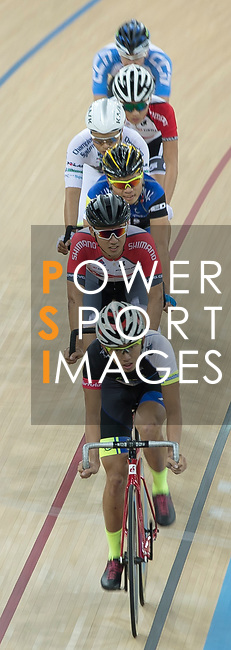 Mow Ching Yin of the CMS competes in the Men Elite - Omnium II Tempo Race 10km category during the Hong Kong Track Cycling National Championships 2017 at the Hong Kong Velodrome on 18 March 2017 in Hong Kong, China. Photo by Chris Wong / Power Sport Images