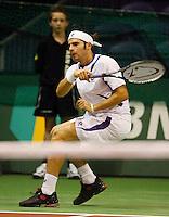 18-2-07,Netherlands, Roterdam, Tennis, ABNAMROWTT, 2nd round qualifier, Florent Serra
