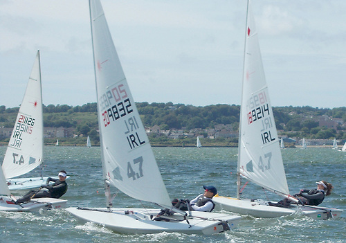 The Irish Laser dinghy class plans eight events in 2021