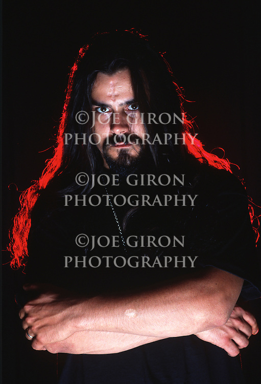 Various portrait sessions and live photographs of the rock band, Deicide