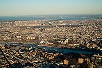 aerial photograph Bronx, New York City
