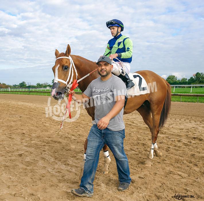 Shakqueenking winning at Delaware Park on 10/7/21