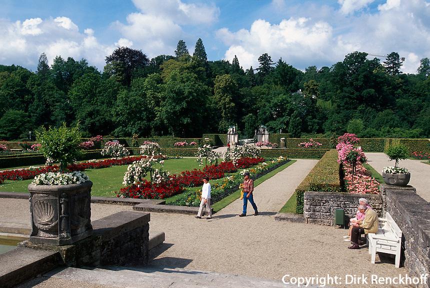 Deutschland, Baden-Württemberg, Jugendstil-Garten Gönneranlage in Baden-Baden