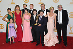 The cast of Modern Family attends 65th Annual Primetime Emmy Awards - Arrivals held at The Nokia Theatre L.A. Live in Los Angeles, California on September 22,2012                                                                               © 2013 DVS / Hollywood Press Agency