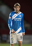 St Johnstone v Motherwell…17.12.16     McDiarmid Park    SPFL<br />Murray Davidson<br />Picture by Graeme Hart.<br />Copyright Perthshire Picture Agency<br />Tel: 01738 623350  Mobile: 07990 594431