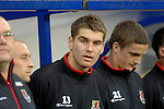 International Friendly match between Wales and Scotland at the new Cardiff City Stadium : Sam Vokes of Wales.