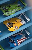 Hydros-PROP Seafair, Lake Washington, Seattle, Washington, USA 4 August,2002  Model Unlimited hydroplanes on display at Seafair..Copyright©F.Peirce Williams 2002..F. Peirce Williams.photography.P.O. Box 455 Eaton, OH 45320 USA.317.358.7326  fpwp@mac.com