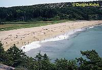 """AC01-005z  Acadia National Park, Maine - Sandy Beach - beach """"sand"""" entirely of animal shells"""