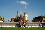 The Grand Palace and Wat Phra Kaeo in Bangkok, Thailand