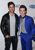 "LOS ANGELES, CA, USA - APRIL 17: Josh Peck, Drake Bell at the Drake Bell ""Ready Steady Go!"" Album Release Party held at Mixology101 & Planet Dailies on April 17, 2014 in Los Angeles, California, United States. (Photo by Xavier Collin/Celebrity Monitor)"