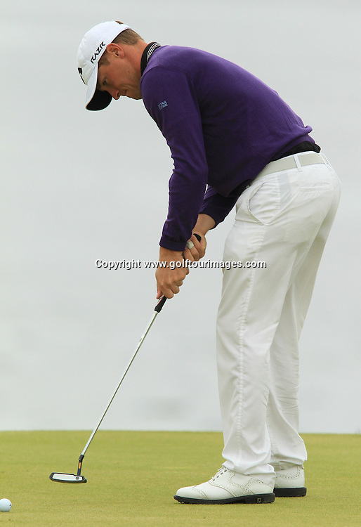 Alexander Noren during the second round of the 2012 Aberdeen Asset Management Scottish Open being played over the links at Castle Stuart, Inverness, Scotland from 12th to 14th July 2012:  Stuart Adams www.golftourimages.com:13th July 2012