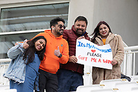 Despite the weather the fans were still in good spirits during India vs New Zealand, ICC World Test Championship Final Cricket at The Hampshire Bowl on 21st June 2021