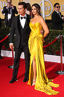 LOS ANGELES, CA - JANUARY 18: Matthew McConaughey, Camila Alves at the 20th Annual Screen Actors Guild Awards held at The Shrine Auditorium on January 18, 2014 in Los Angeles, California. (Photo by Xavier Collin/Celebrity Monitor)