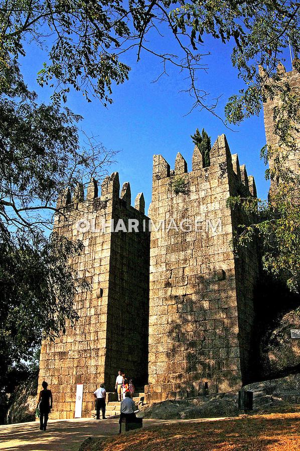 Castelo dos Guimarães no Minho. Portugal. 2005. Foto de Rogério Reis.