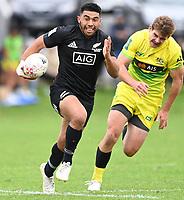 22nd May 2021; Grammar Tec, Auckland New Zealand; All Blacks Sevens versus Australia, Trans-Tasman Sevens;  Ngarohi McGarvey Black.
