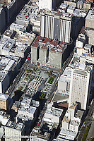 aerial photograph Union Square San Francisco Westin St. Francis hotel
