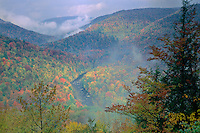 Loyalsock Creek Canyon<br />   from Canyon Vista<br /> Worlds End State Park<br /> Sullivan County, Pennsylvania