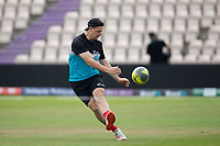 Matt Henry, New Zealand during a training session ahead of the ICC World Test Championship Final at the Hampshire Bowl on 17th June 2021
