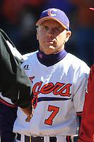 Jack Leggett (Head Coach) Clemson Tigers (Photo by Tony Farlow/Four Seam Images)